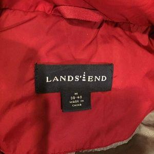 Lands' End Jackets & Coats - Lands End Down Puffer Vest M